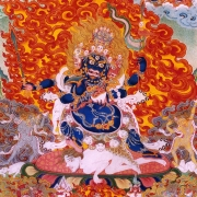 Mahakala 4-faced