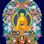 释迦牟尼佛与宗喀巴大师