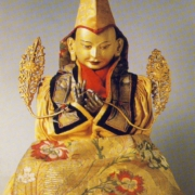 Tsongkhapa with clothing