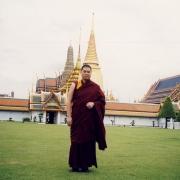 尊贵的詹杜固仁波切摄于泰国