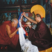 Tsem Rinpoche and Geshe Asu