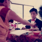 H.E. Tsem Tulku Rinpoche conducting a Buddhist wedding ceremony in Malaysia