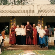 H.E. Tsem Tulku Rinpoche donated to help building school in Camp 2
