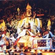 Tsongkhapa and Disciples @ Sera (Wood)