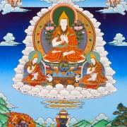 宗喀巴大师 (上师瑜伽法观想图)