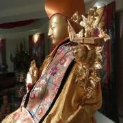 克切拉供奉的宗喀巴大师像