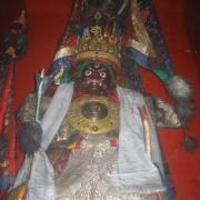 印度甘丹萨济寺的金甲衣圣像
