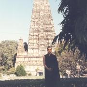 H.E. Tsem Tulku Rinpoche at Bodhgaya