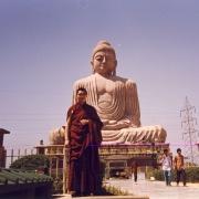 H.E. Tsem Tulku Rinpoche in Bodhgaya