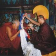 Tsem Rinpoche and Geshe Asu