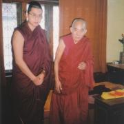 H.E. Tsem Tulku Rinpoche with H.E. Lati Rinpoche