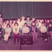 H.E. Tsem Tulku Rinpoche during his elementary school days, he was always one of the tallest in class