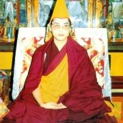 H.E. Tsem Tulku Rinpoche in Drepung Loseling Pukhang Khangtsen