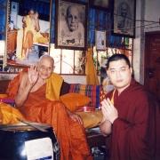 H.E. Tsem Tulku Rinpoche meeting a famous and high Thai monk