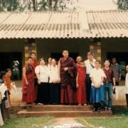 H.E. Tsem Tulku Rinpoche donated to help building school in Camp 2
