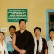 H.E. Tsem Tulku Rinpoche donated to help building school in Camp 3
