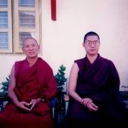 H.E. Tsem Tulku Rinpoche with H.E. Sharpa Choeje
